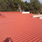 Waterproofing and Painting of Zinc Roof