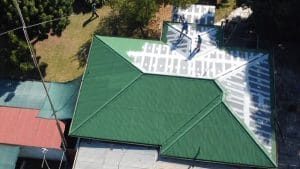 Zinc Roof- Maintenance and Painting